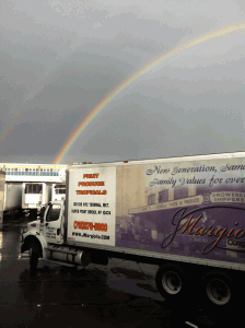Rainbow in Huntspoint